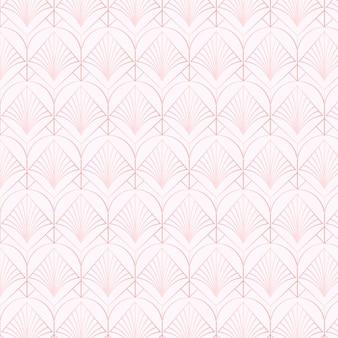 Monochroom licht violet art deco naadloos patroon