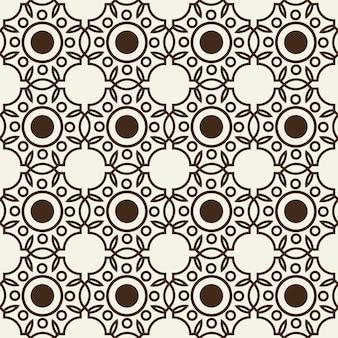 Monochroom naadloze achtergrondpatroon