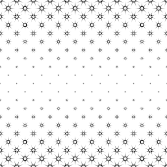 Monochroom sterpatroon - achtergrondafbeelding
