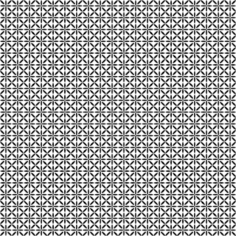 Monochroom sterpatroon - vector achtergrond grafisch