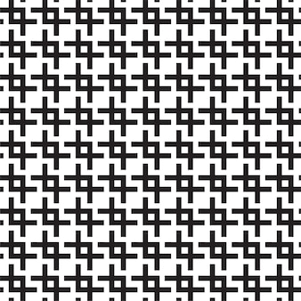 Monochroom trelly naadloze patroon