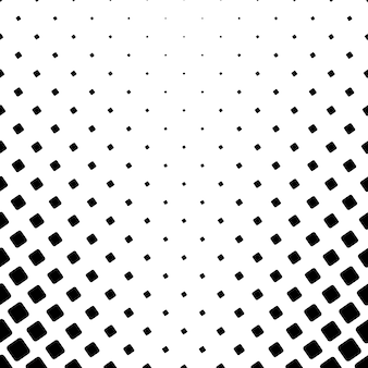 Monochroom vierkant patroon - vector achtergrond