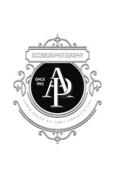 Monogram logo photography ap