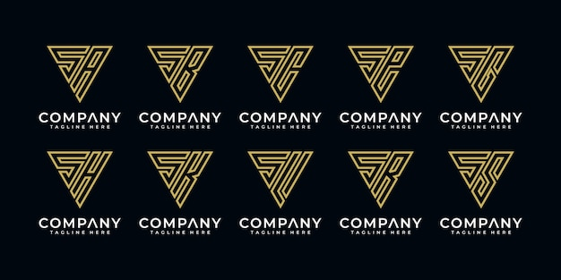 Monogram set logo s en enz