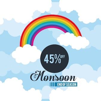Monsoon grote verkoop en kortingen pictogram