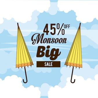 Monsoon grote verkoop