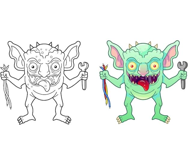Monster gremlin