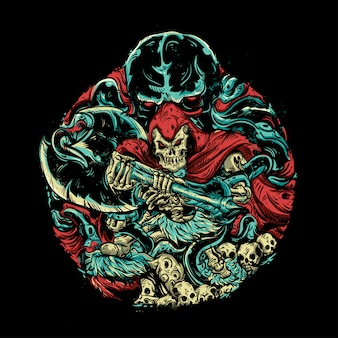 Monster illustratie