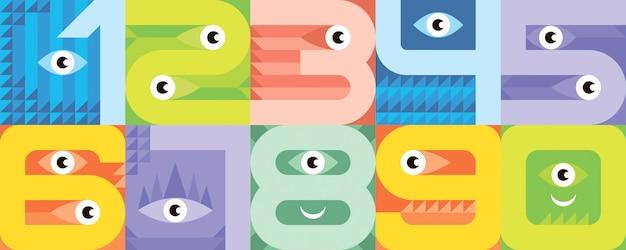Monster lettertypenummers