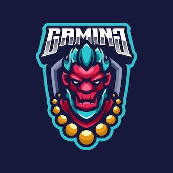 Monster logo mascotte