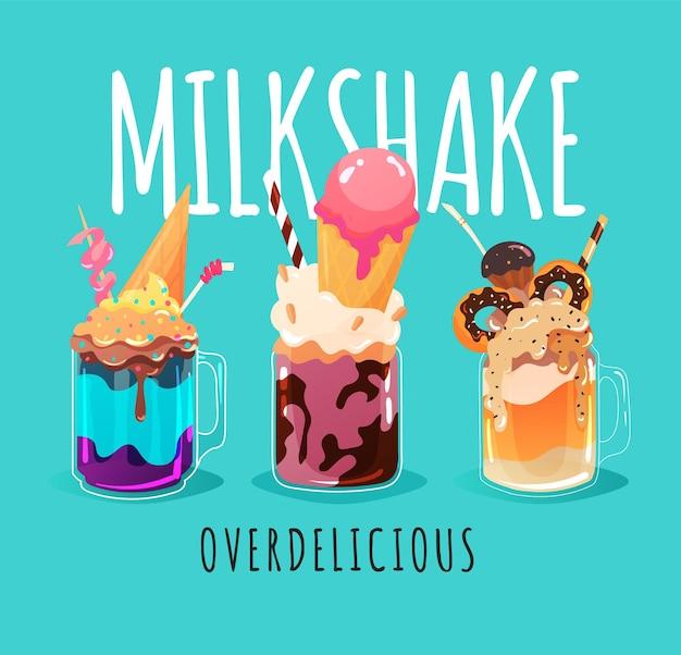 Monster milkshakes zijn waanzinnig lekker