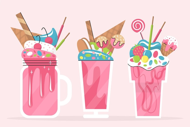 Monster shake collectie