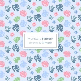 Monstera patroon