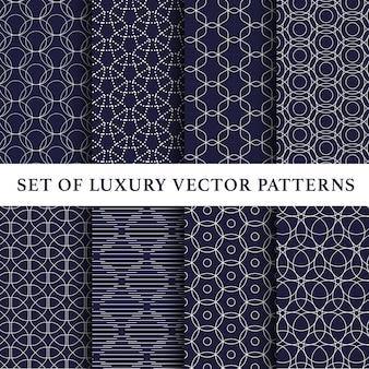 Mooi abstract vectorpatroonpak