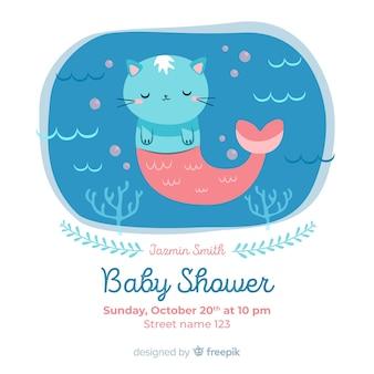 Mooi baby shower ontwerp