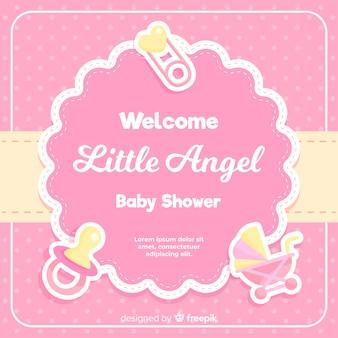Mooi baby showerontwerp