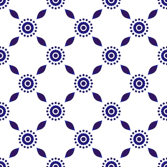 Mooi batikpatroon