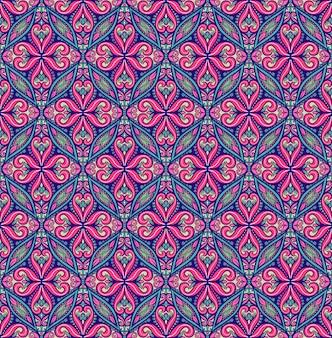 Mooi blauw patroon