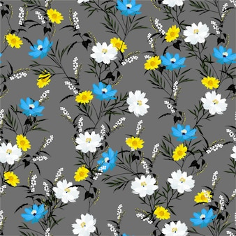 Mooi bloeiend patroon