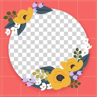 Mooi bloemen facebook frame