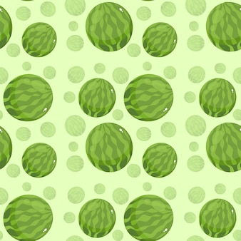 Mooi creatief watermeloenpatroonbehang