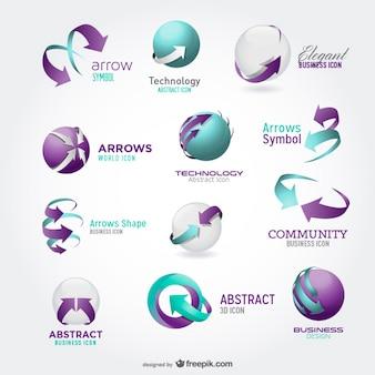 Mooi design icoon vector materiaal
