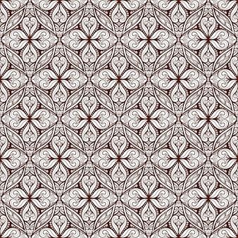 Mooi donkerbruin patroon