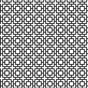 Mooi en uniek modern geometrisch naadloos patroon
