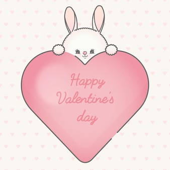 Mooi frame van hart voor valentijnsdagpremie