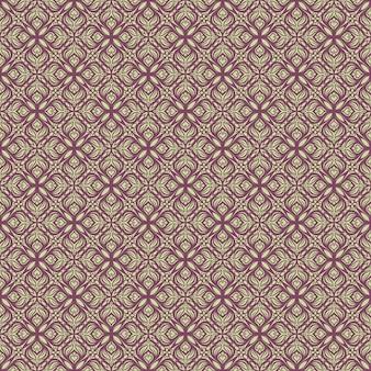 Mooi groen paars patroon