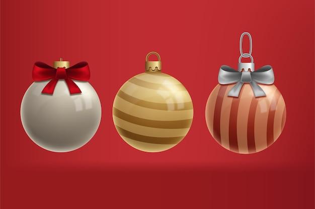 Mooi handgetekend kerstelement