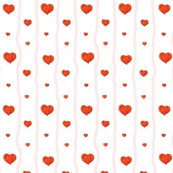 Mooi hart naadloos patroon