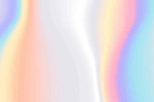 Mooi holografisch kleurrijk gloeiend behang