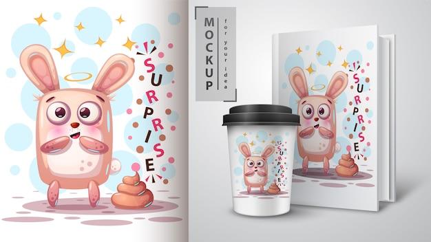 Mooi konijn en merchandising
