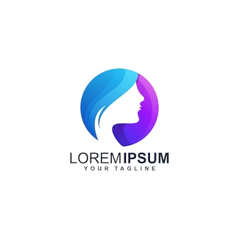 Mooi logo ontwerpsjabloon
