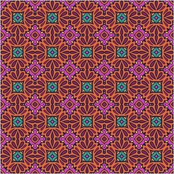 Mooi naadloos patroon met abstracte stijl