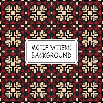 Mooi naadloos patroon met pixelstijl