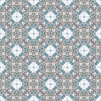 Mooi naadloos patroon