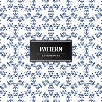 Mooi naadloos patroonontwerp als achtergrond