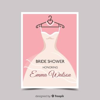 Mooi ontwerp van de bruids douche