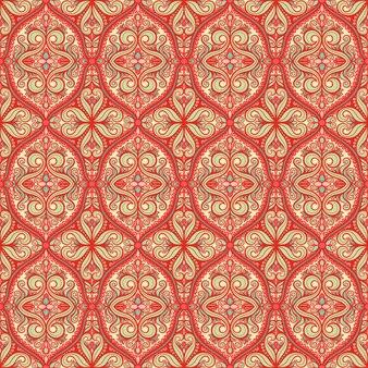 Mooi oranje patroon