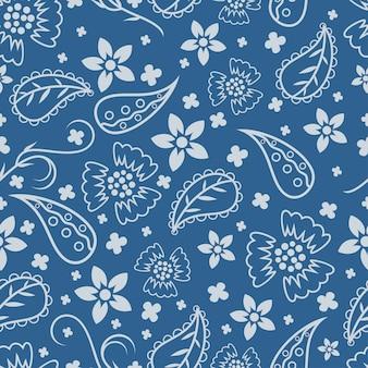 Mooi patroon met paisley ontwerp