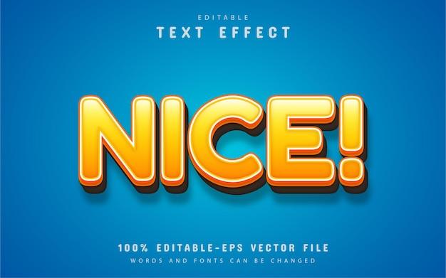 Mooi teksteffect bewerkbaar