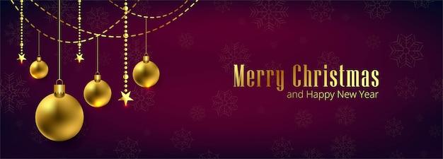 Mooi vrolijk kerstmissjabloon