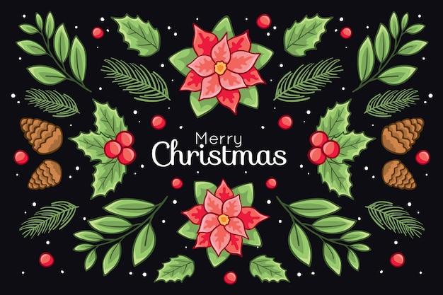 Mooie achtergrond met kerstthema