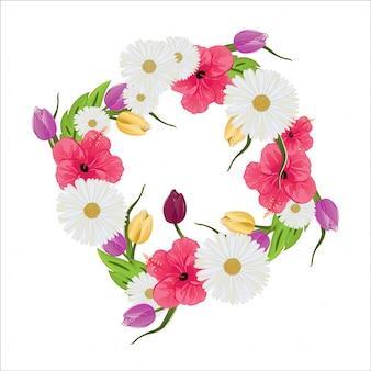 Mooie begrafenis versierde bloem