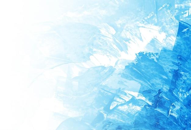 Mooie blauwe aquarel textuur achtergrond