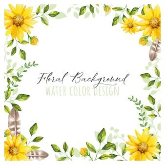 Mooie bloem achtergrond