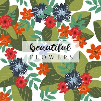 Mooie bloemen achtergrond