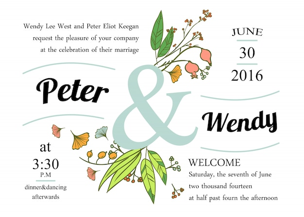Mooie bloemen banners instellen. element voor ontwerp of uitnodigingskaart